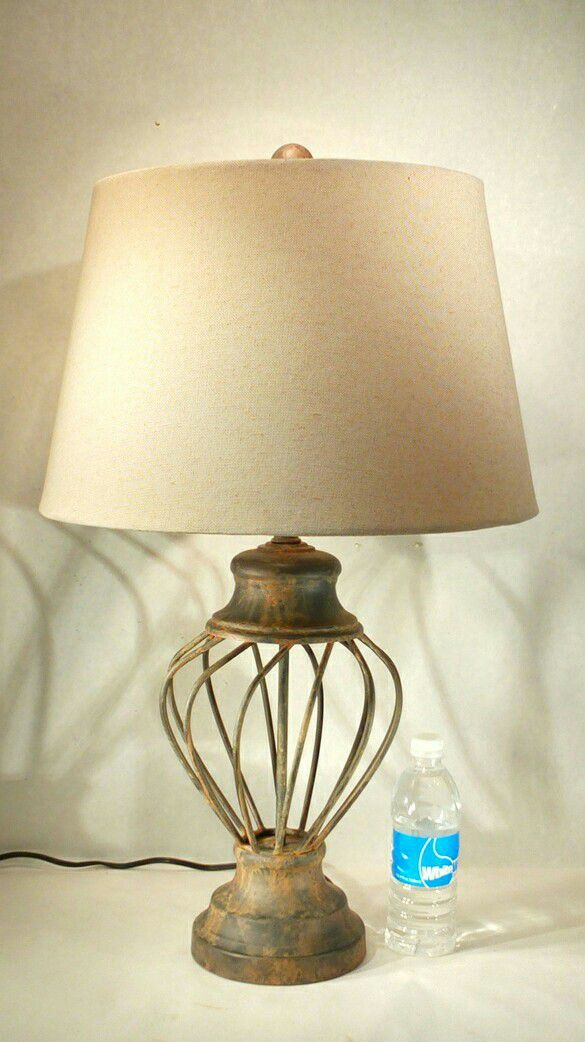 Rustic iron table lamp pickup only 28 tall home decor farmhouse rustic iron table lamp pickup only 28 tall home decor farmhouse vintage shabby chic for sale in mesa az offerup aloadofball Images