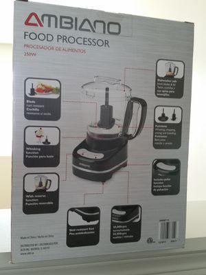 Ambiano, 250 watt Food Processor  Brand new, still in box  for Sale in  Oswego, IL - OfferUp
