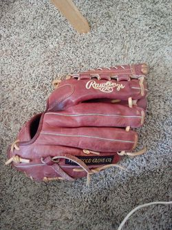 Rawlings baseball glove. Left handed Thumbnail