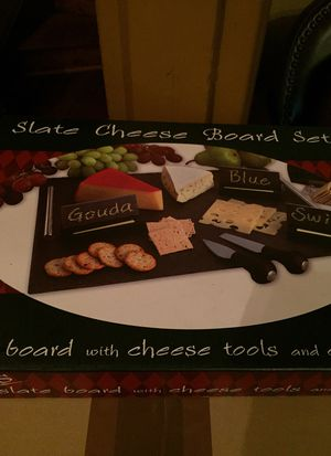 Slate Cheese Board Set (New) for Sale in Washington, DC