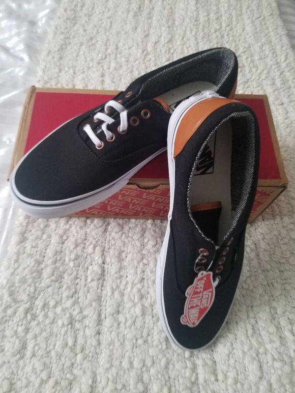 c8ca102ed5 Vans Era (C L) Black Tweed Skate Shoe CN-OY6XF7R Size 10.5M for Sale ...
