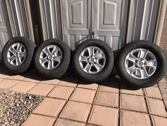 Toyota Tundra Wheels 275/65R18 Thumbnail