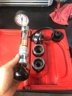 snap on cooling system tools