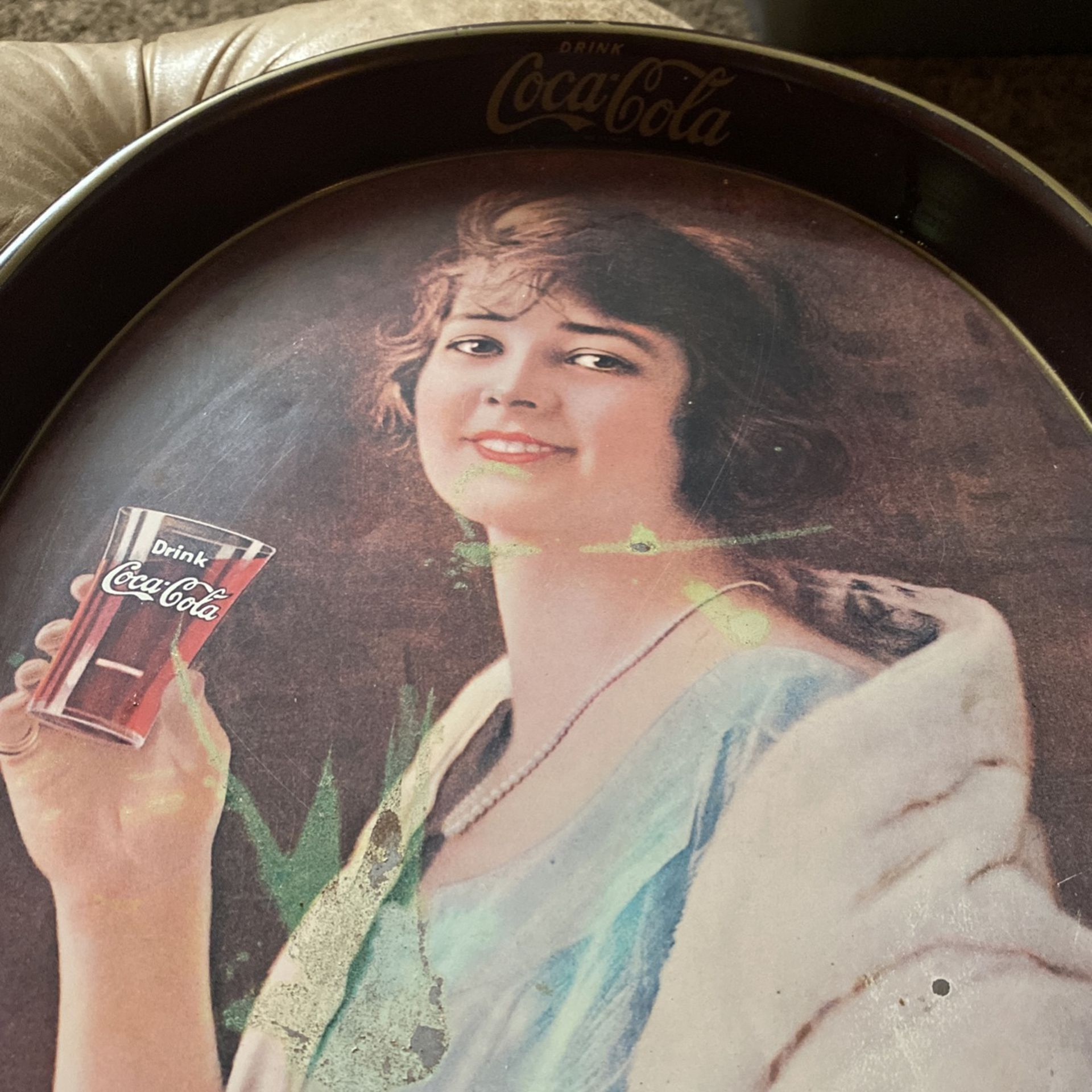 Coca-cola Drink Table Plate