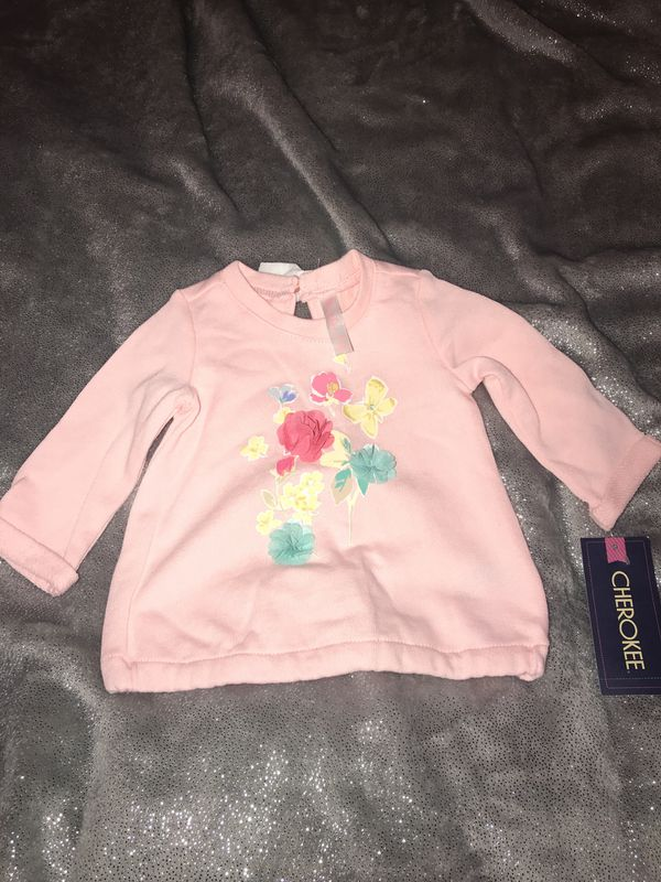 e6a5b0b533d3 Baby girls pink flower sweater for Sale in Bloomington