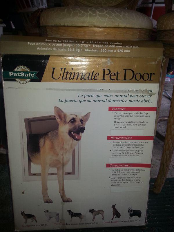 Ultimate Pet Door X L Pet Supplies In Wa Us Offerup