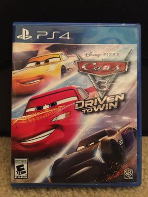 Photo PS4 Games - Cars 3 Driven To Win