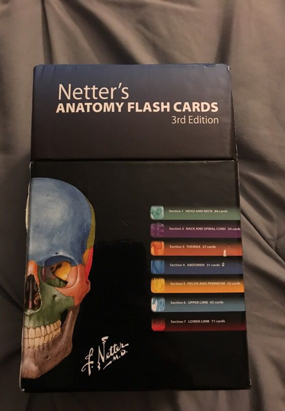 Anatomy Flash Cards For Sale In Perris Ca Offerup