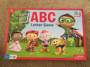 Super Why ABC Board Game for Sale in Ellicott City, MD