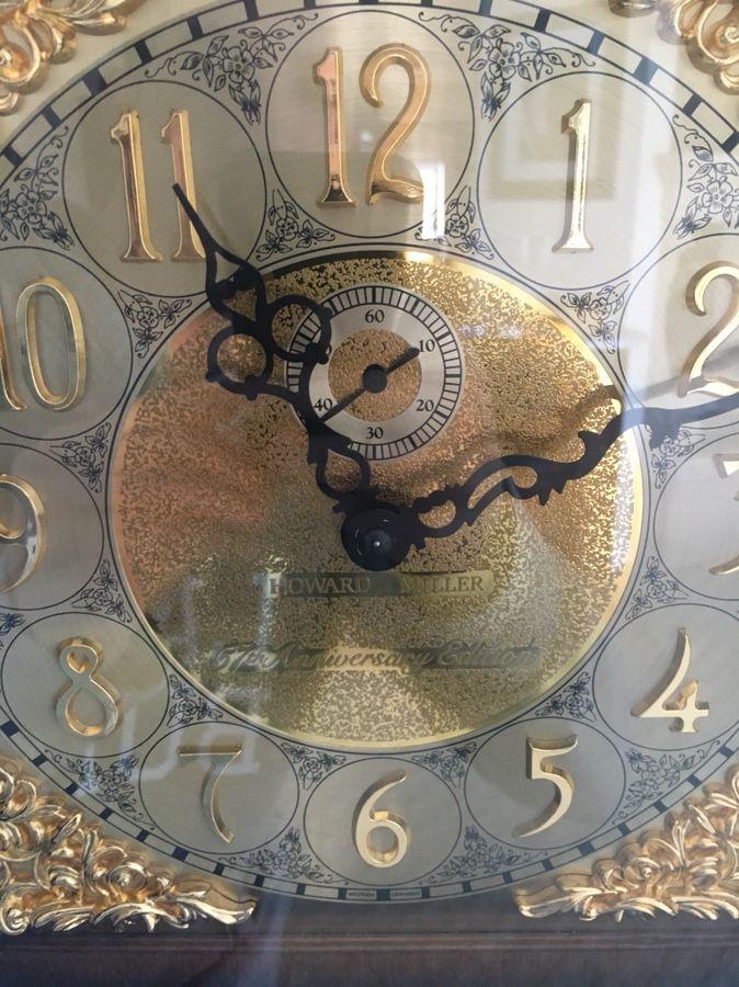 Howard Miller 1983 57th Anniversary grandfather clock model 610-277