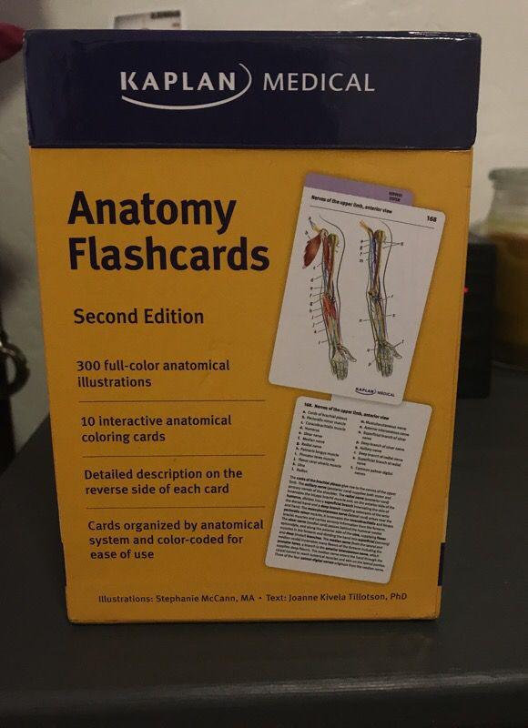 Kaplan Anatomy Flashcards (Jewelry & Accessories) in San Diego, CA ...