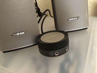 Bose Companion 20 multimedia Desktop Stereo Speaker System Thumbnail