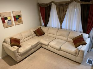 ASHLEY Collection Sectional Sofa Set - 2 pieces - almost new!!! for Sale in South Kensington, MD