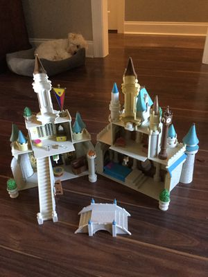 Photo Walt Disney world monorail playset Cinderella's Castle