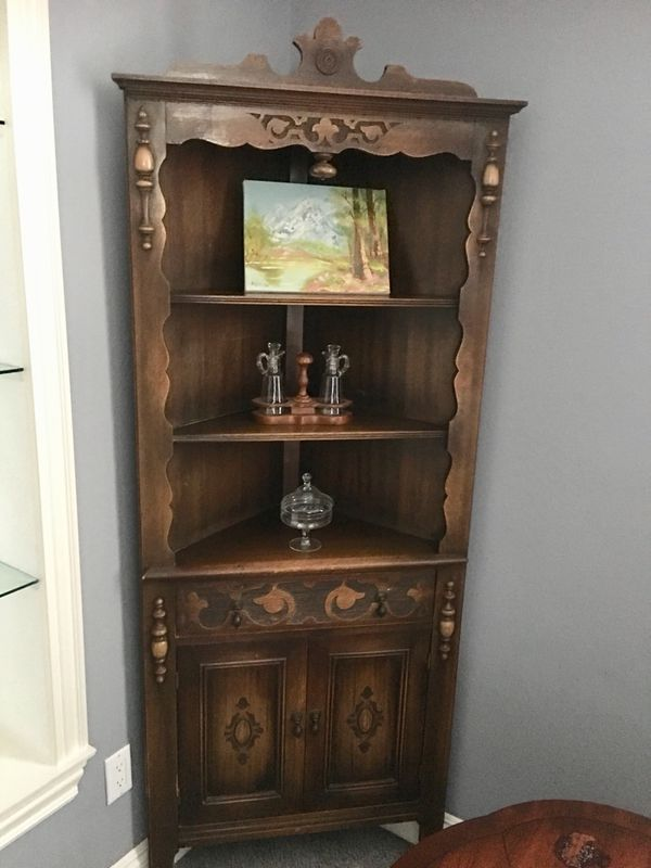 - Antique Corner Cabinet $600. For Sale In Arroyo Grande, CA - OfferUp