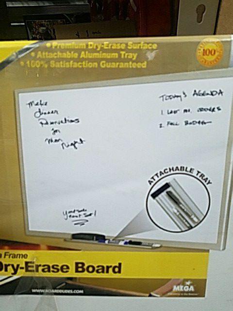Professional aluminum frame dry erase board 36\