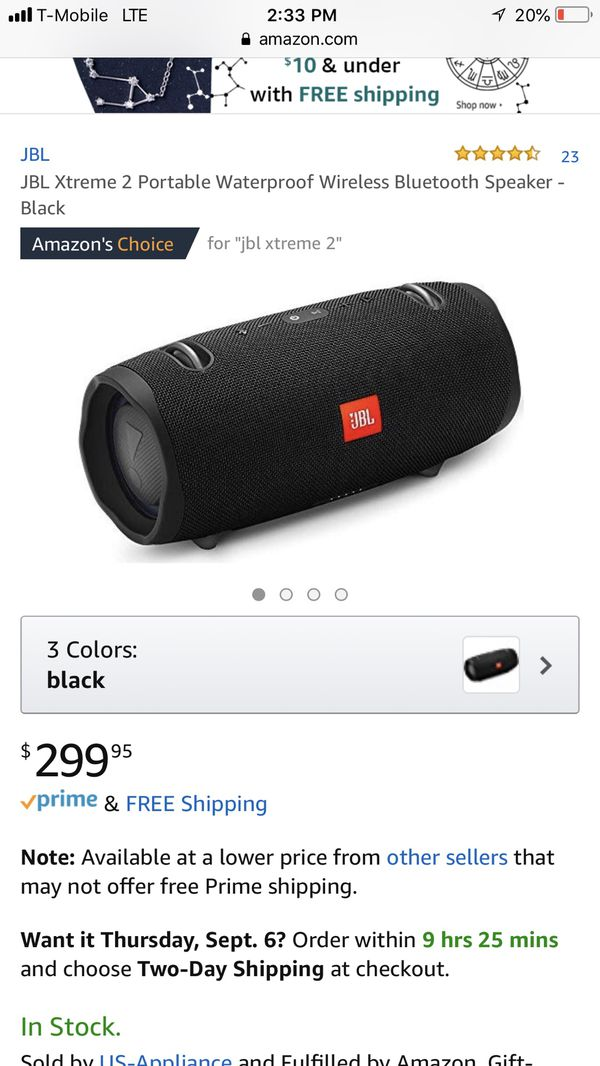 JBL EXTREME 2 Bluetooth SPEAKER for Sale in Los Angeles, CA - OfferUp