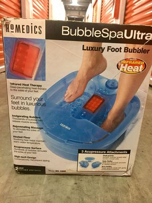 Bubble Foot Spa for Sale in Bowie, MD