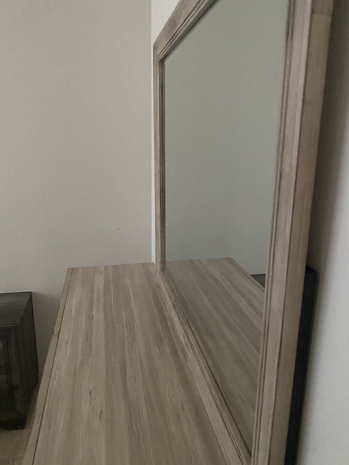 Real Wood Bedroom Set Including Mattress Like New Clean And Well Taken Care Of Barely Used