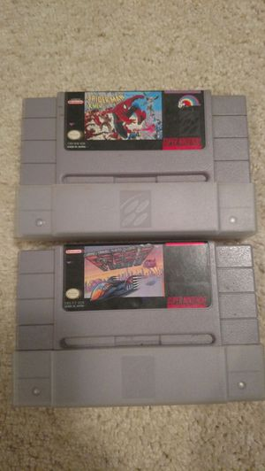 2 SNES games for Sale in Appomattox, VA