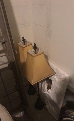 Lamp Set (shades included) for Sale in Atlanta, GA