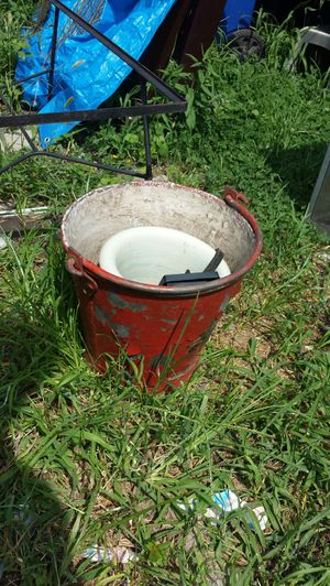 Thick Metal Bucket for Sale in Washington, DC