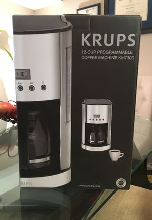 KRUPS 12 Cups Programmable Coffee Maker Machine for Sale in Falls Church, VA