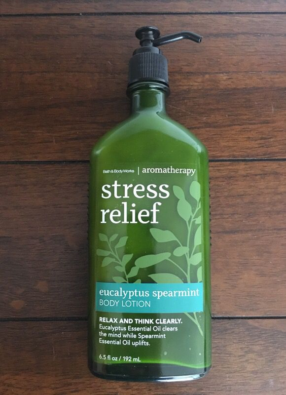 Bath Body Works Stress Relief Lotion For Sale In Rock Hill Sc