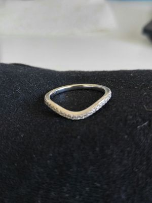 Kay's 14K white gold and diamond band for Sale in Tampa, FL