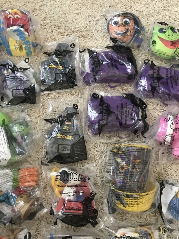 unopened mcdonald s happy meal toys would make great prizes for