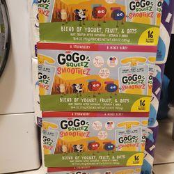 GoGo Squeez Smoothies 16 Ct Thumbnail