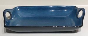 NEW 14.5 Baking / Serving Dish Andalusian Blue Stoneware for Sale in Las Vegas, NV