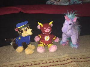 Build A Bear plush toys for Sale in Silver Spring, MD