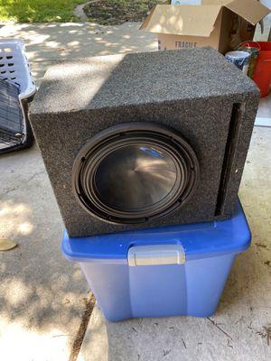 Photo 12 inch sub with box