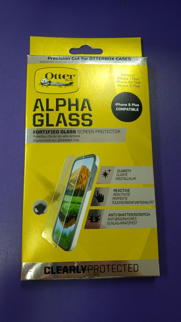 huge selection of f399c 60beb Otterbox Alpha Glass iPhone 6/6s/7/8 plus for Sale in Rancho Cucamonga, CA  - OfferUp