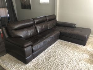 New and Used Leather couch for Sale in Seattle, WA - OfferUp