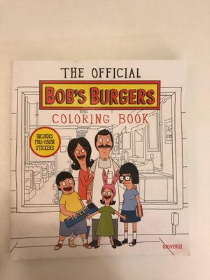 Bobs burgers coloring book for Sale in St. Louis, MO