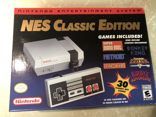 Nintendo Nes Classic Edition Brand New Video Games In Los