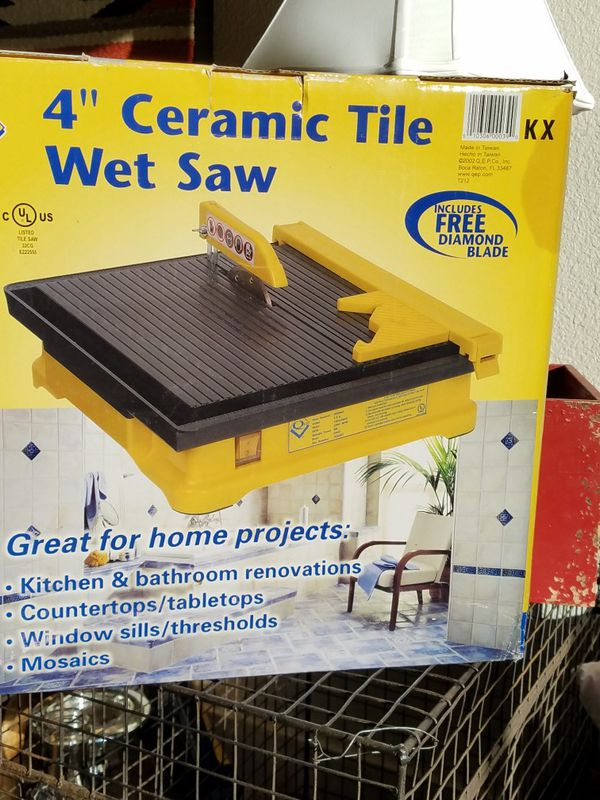 Ceramic Tile Wet Saw For Sale In Vancouver Wa Offerup