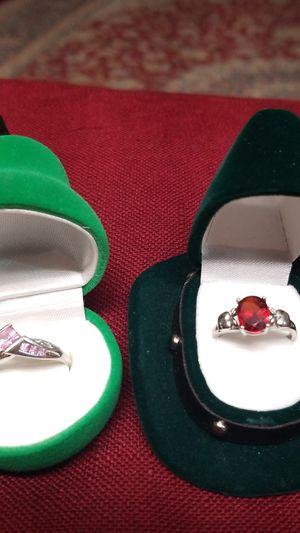 2 WHITE GOLD RINGS COMBO for Sale in West Springfield, VA