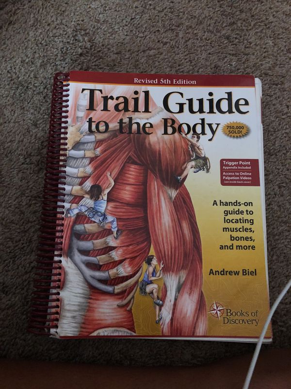 Book Trail Guide To The Body Revised 5th Edition For Sale In Las