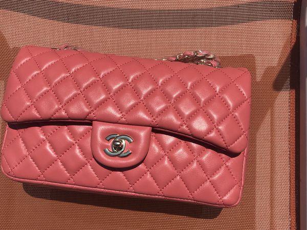 03bdb62c4749c1 Chanel Light orange 10inch 2.55 Double Flap Classic Shoulder bag ...