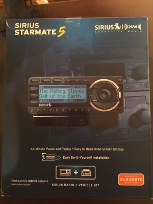 Sirius Starmate 5 - SDST5V1 for Sale in Pittsburgh, PA