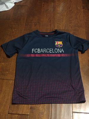 FC Barcelona Fan Shirt 10 yrs for Sale in Alexandria, VA