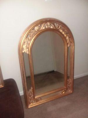 Gold finish Mirror for Sale in Alexandria, VA
