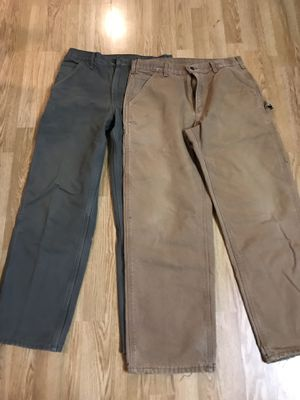 carhartt Men work pants Bundle for Sale in Washington, DC