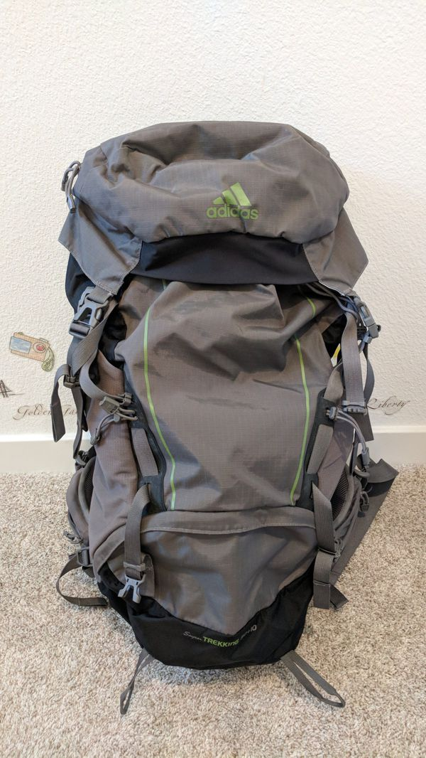 fe1ec9f0daad Adidas super trekking 60L waterproof backpack for Sale in San Jose ...