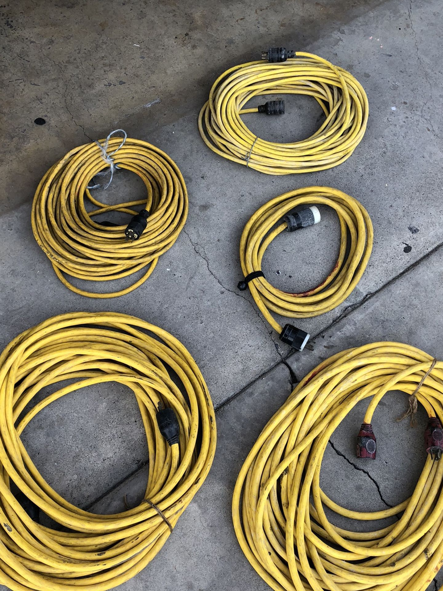 220 Pigtail Cords
