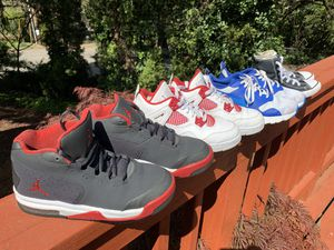 Photo Kids- 4.5Y. Nike, Jordan and Converse