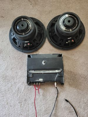 Photo 2 12 Memphis 500 watt subs and kenwood 1000 all were tested and work like they are supposed too